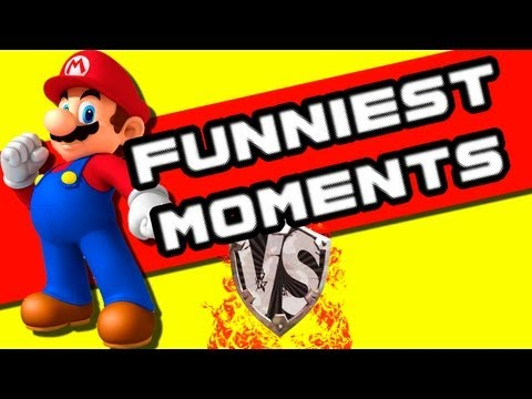 Funniest Moments of Super Mario 64 Versus!