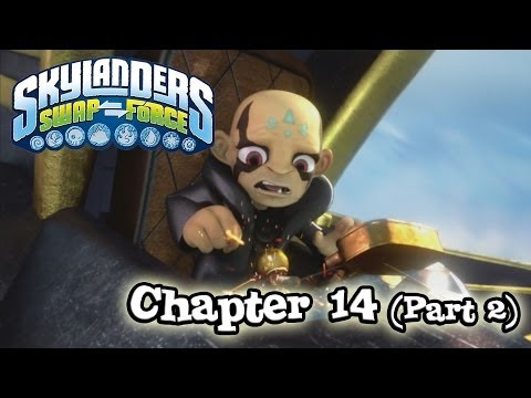 Let's Play Skylanders SWAP FORCE - Chapter 14 FANTASM FOREST - Part 2 (Hard Mode)