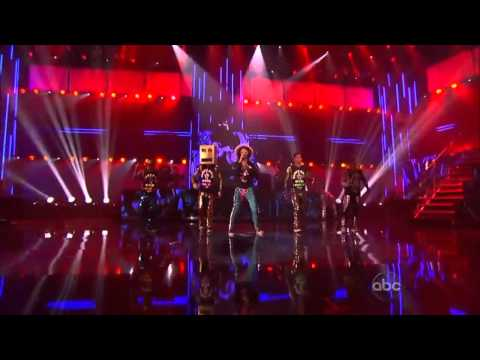 Lmfao - Party Rock Anthem   Sexy And I Know It ( Live  American Music Awards ) [hd] video