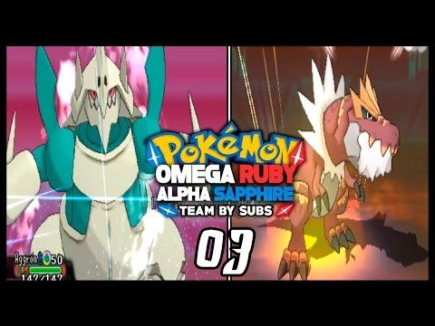 Pokémon Rubí Omega/Zafiro Alfa: Combate (Team By Subs #03) SWEEP MEGA-AGGRON!!