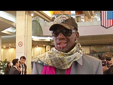 Dennis Rodman, nalasing daw sa North Korea; dumiretso sa rehab pagkatapos