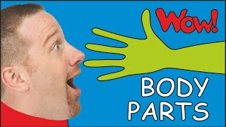 Body Parts for Kids   Dream English with Steve and Maggie in funny English stories