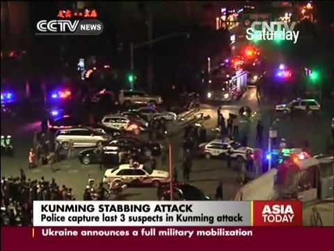 Kunming terrorist attack suspects captured