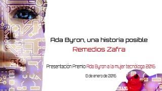 Presentación de la edición 2016 del Premio Ada Byron a la Mujer Tecnóloga