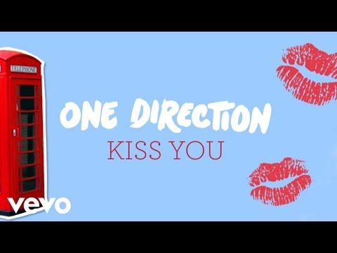 One Direction - Kiss You (lyric Video) video