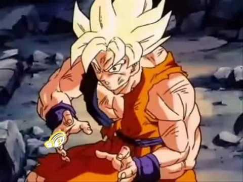 Goku Fights Broly Broly vs Goku Fight of The