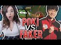 POKI VS FAKER MID LANE!