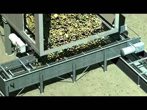 Biomass Silo Bunker With Moving Floors Connected To