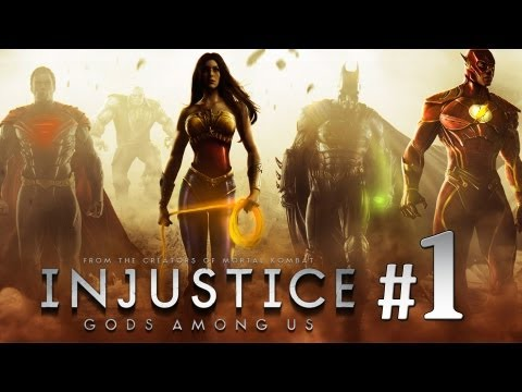 Injustice: Gods Among Us - Modo Historia Capitulo 1 Batman | Walkthrough Let's Play Injustice en Español Gameplay Xbox360/PS3