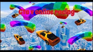 Grand Theft Auto V online racing funny moment w/CITRICFUTURE308
