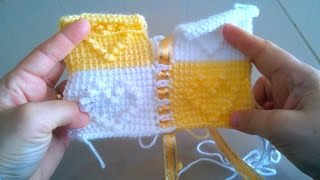 Bebek Battaniyesi Motif Birleştirme Nasıl Yapılır , Canım Anne