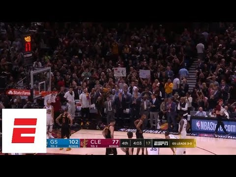 LeBron James gets standing ovation during last minutes of season, and perhaps his Cavs career | ESPN