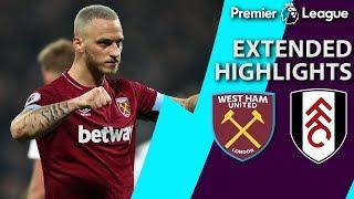 West Ham v. Fulham | PREMIER LEAGUE EXTENDED HIGHLIGHTS | 2/22/19 | NBC Sports