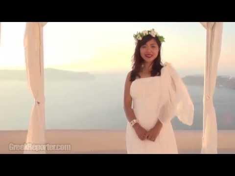 Santorini: Chinese Honeymooners Explain The Greek Island's Popularity in China