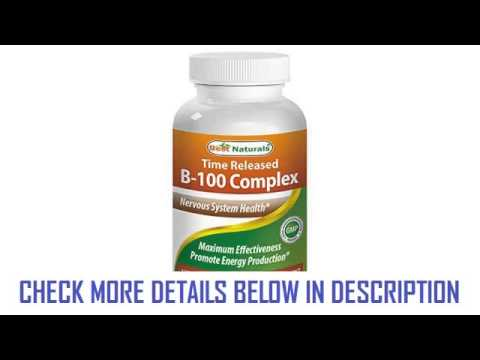 1 B100 120 Tablets Featuring Balanced BComplex Supports Energy Production Powerful Antioxidant Manuf