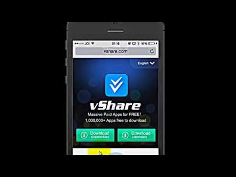 How To Install vShare Download PAID Apps FREE iOS 11 - YouTube