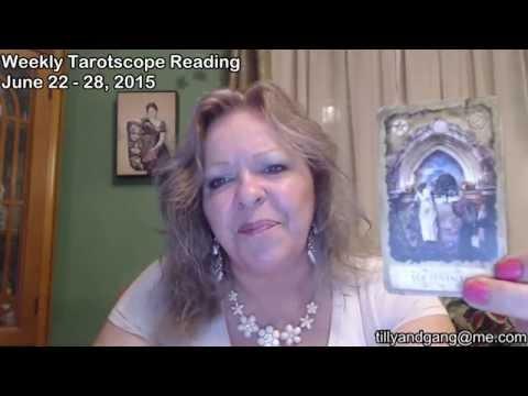 Aries Weekly Tarotscope Reading June 22  -28 2015