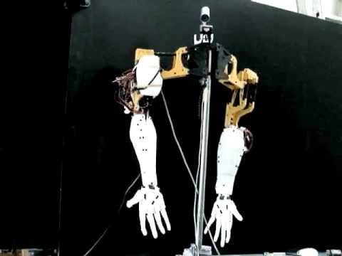 "Animatronic Robot Hand 3D printer ""InMoov"" Part7"