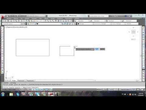 AutoCAD 2012 Leccion 1. Primeros Comandos