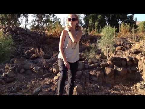 Dig Site at Ancient Bethsaida, Israel
