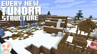 EVERY NEW SNOWY VILLAGE STRUCTURE