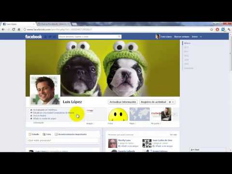Cómo crear publicaciones en Facebook, añadir fotos, compartir enlaces y chatear (español, 2013)