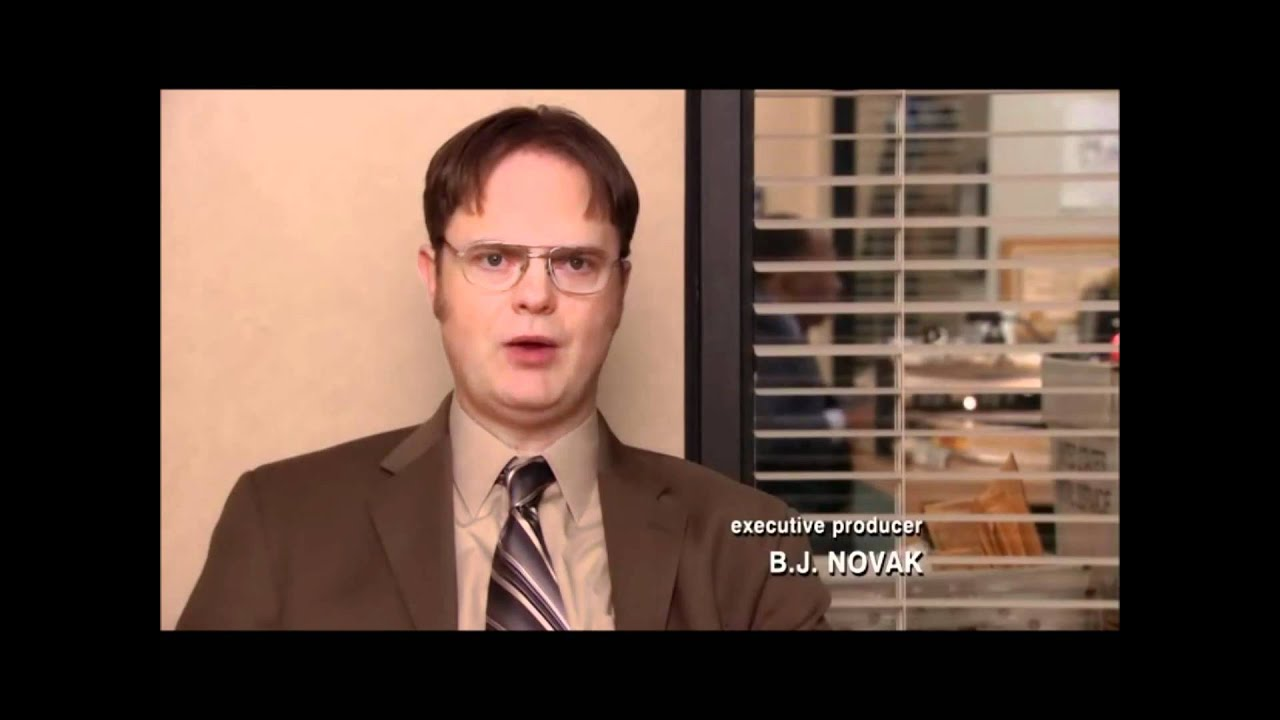 Funniest Dwight Schrute Quote Youtube