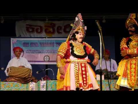 Yakshagana Sudhanvarjuna - Washington Usa - Kondadakuli Troupe video