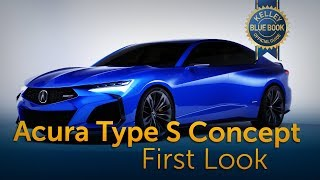 Acura Type S Concept - First Look