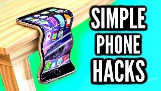Simple iPhone Hacks! Phone Hacks Everyone Should Know!