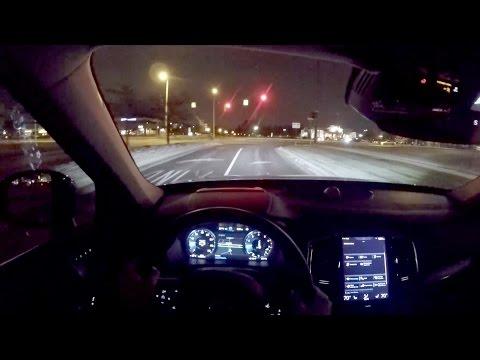 2016 Volvo XC90 T6 AWD Inscription - WR TV POV Night Drive
