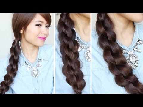 3D Split Twist Braid Hairstyles - 3D fonott frizura
