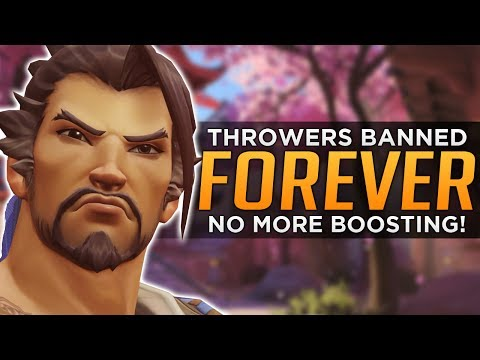 Overwatch: Throwers & Trolls Banned FOREVER!?