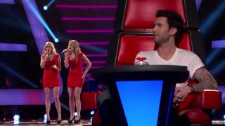 Шоу Голос The Voice Highlight The Morgan Twins - Fallin