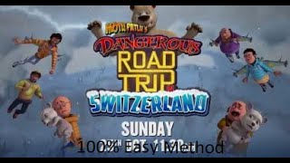 How To Download Motu Patlu's Dangerous Road Trip in Switzerland Full Movie in Hindi 2020 100% Easy