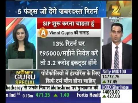 Money Guru   How to initiate investing in SIP and other areas for better returns, Part-I