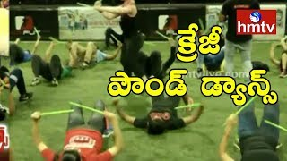 Crazy Dance - Hyderabad Youth Shows Interest On Pond Dance