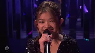 Angelica Hale finale Performance on America's Got Talent The Champions!   The Finals