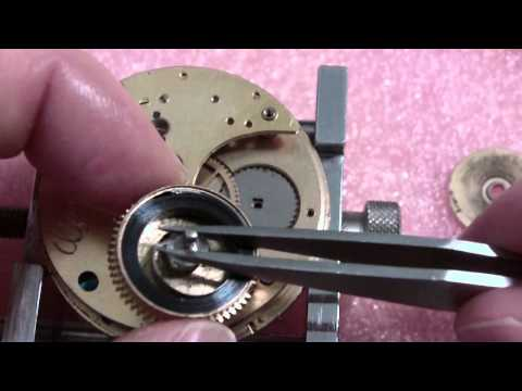 Possible broken mainspring, Illinois Watch Co.