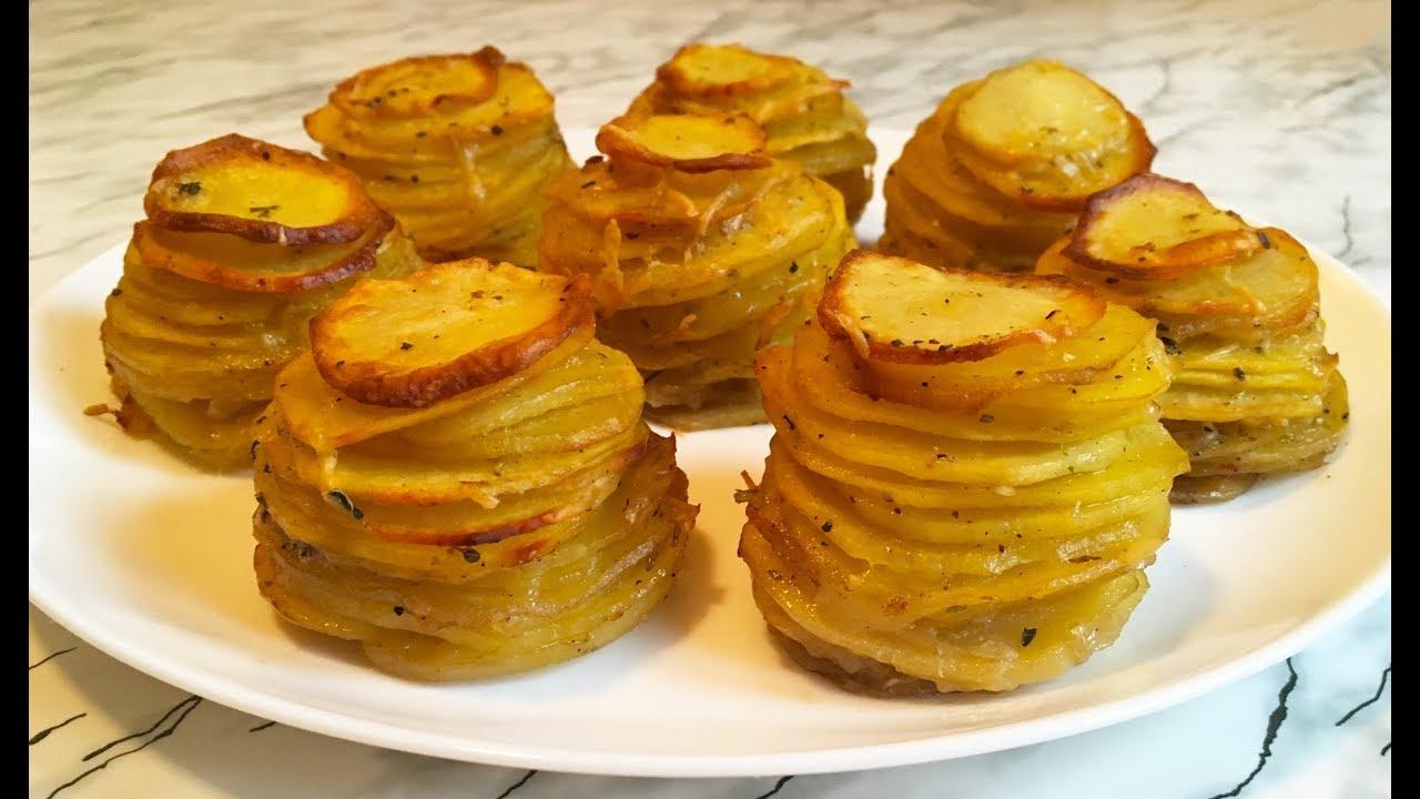 Гарнир из картофеля на праздничный стол