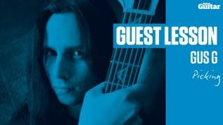 Gus G Guest Lesson - Picking (TG237)