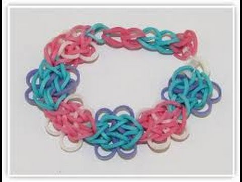 ButterFly Blossom Tutorial- Rainbow Loom