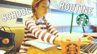 School Morning Routine at Starbucks ☕