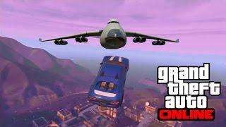 GTA 5 - Top 10 best stunts - MASSIVE JUMP !
