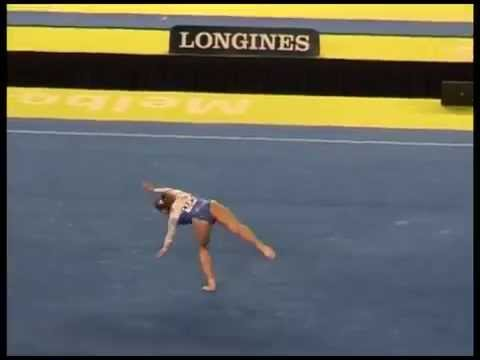 Catalina Ponor (rou) - 2005 Worlds Qf - Floor video