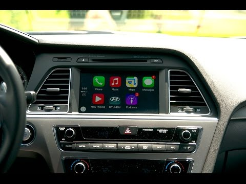 Apple Car Play Demo In The 2015 Hyundai Sonata