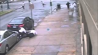 CCTV Captures New Orleans Shooting