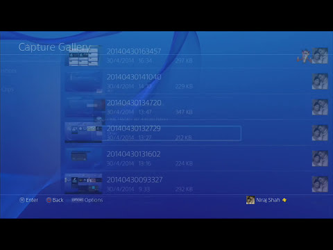 Exporting Screenshots and Video to External USB Drive on the PS4