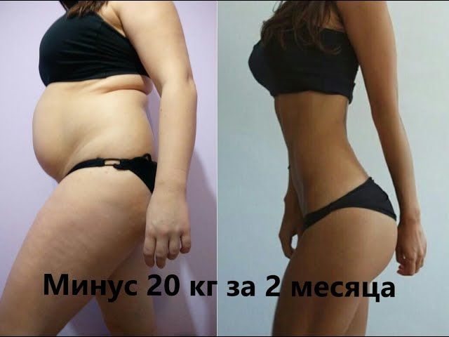 Похудеть на 20 килограмм за 2 месяца! Возможно ли это?  Худеем вместе со мной! №1