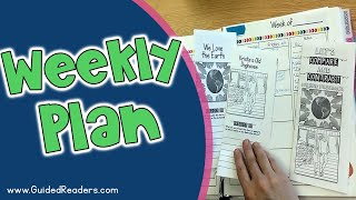 Guided Reading Weekly Plans - Video Style